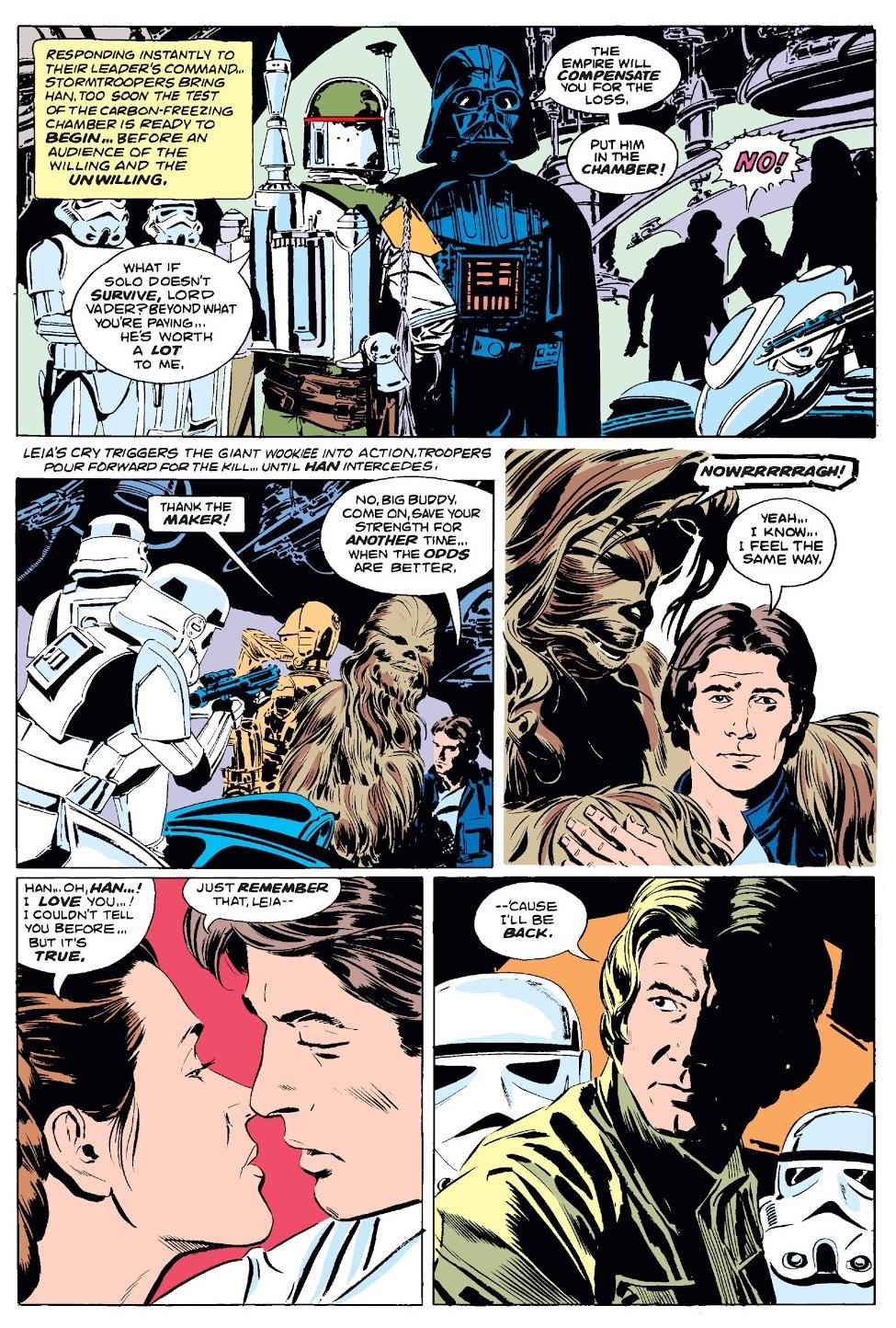 Star Wars 1977 43 Impero Colpisce Ancora Han Solo Boba Fett Leia