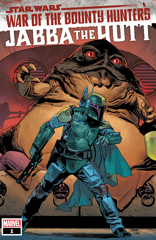 Jabba The Hutt War of the Bounty Hunters cover