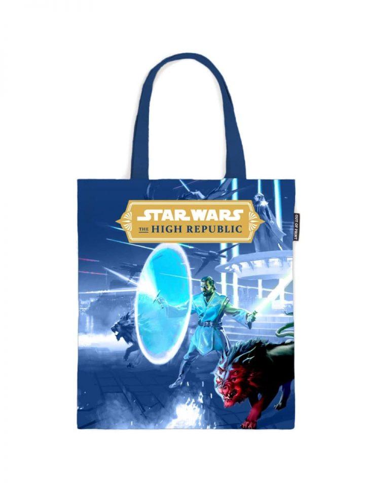 the rising storm tote bag