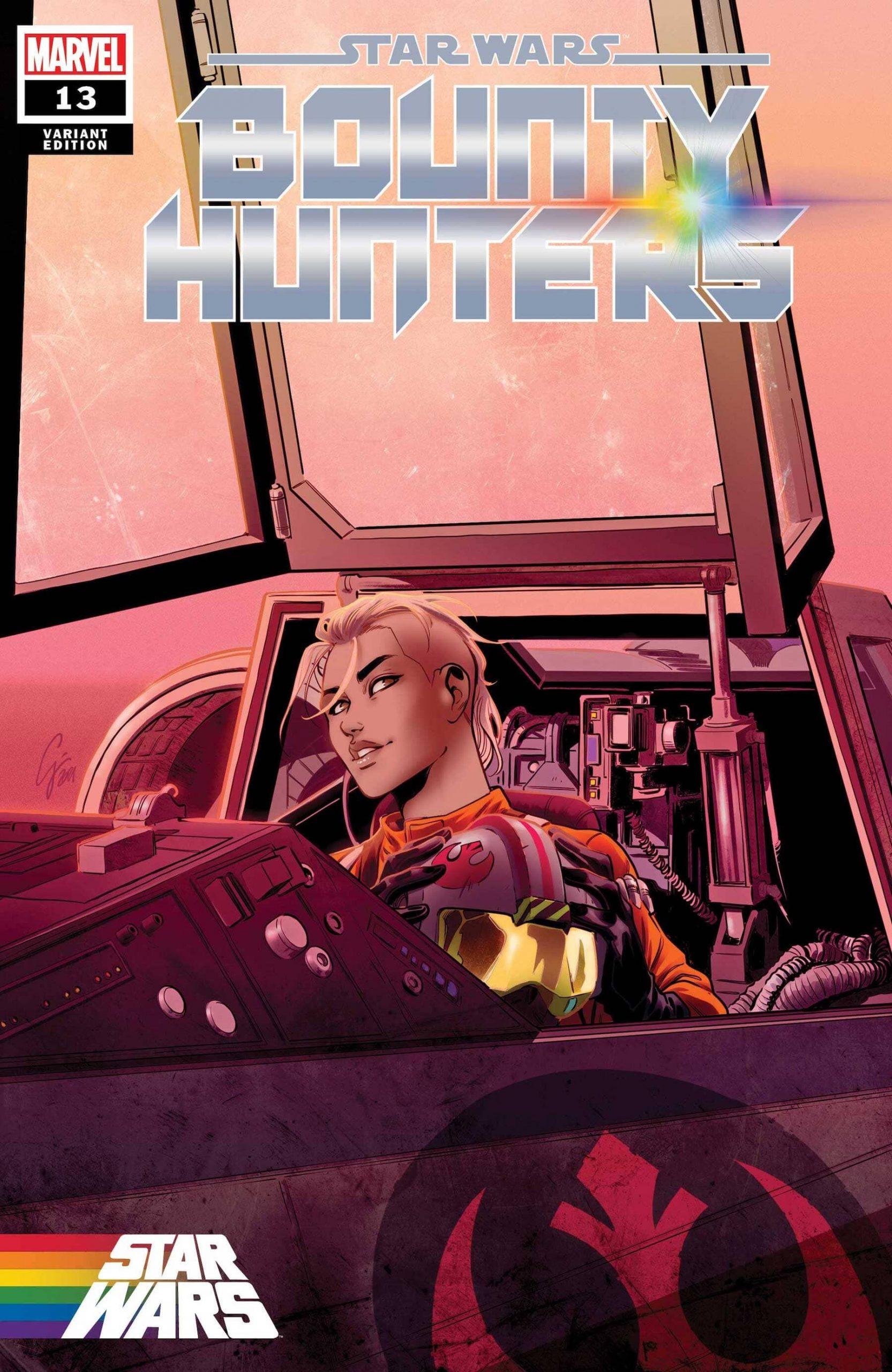 Yrica Quell Bounty Hunters 13 cover Pride